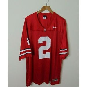 Nike Team Xl Ohio State Buckeyes Jersey Red White